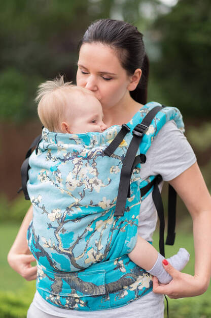 Almond Blossom, NatiGrow Adjustable Carrier, [100% cotton]