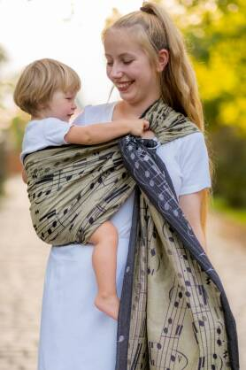 Fantasia, RING SLING, [85% cotton, 15% hemp]