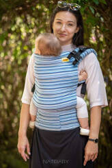 Sweden, NatiGrow Adjustable Carrier, [100% cotton]