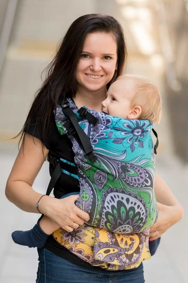 Daydream Splendid, NatiGrow Adjustable Carrier, [100% cotton]