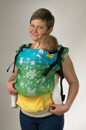 Starshine Splendid Glitter, NatiGrow Adjustable Carrier, [90% cotton, 10% polyester]