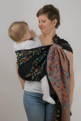 Kaszuby Night, Ring Sling, [100% cotton]