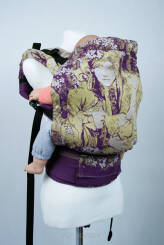 Motherhood Purple, NATIGO CARRIER, [100% cotton]