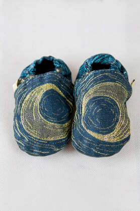 Slippers Starry Night Glitter