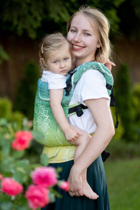 Sibillinya Light Green, NatiGrow Adjustable Carrier, [100% cotton]