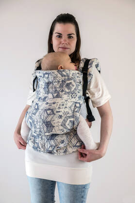 Technology White, NATIGO CARRIER, [100% cotton]