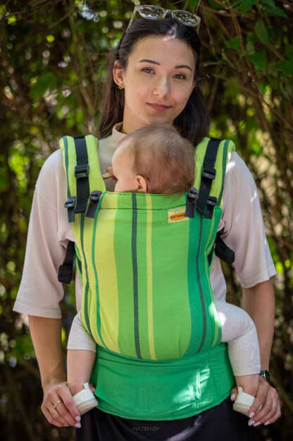 Avocado, NatiGrow Adjustable Carrier, [100% cotton]