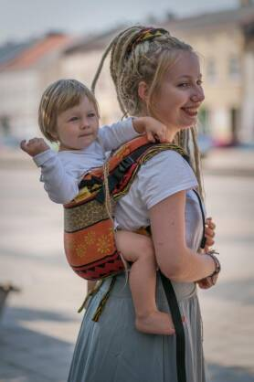Life Trace, ONBUHIMO CARRIER, [100% cotton]