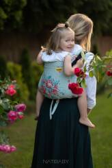 Sweet Roses, ONBUHIMO CARRIER, [100% cotton]