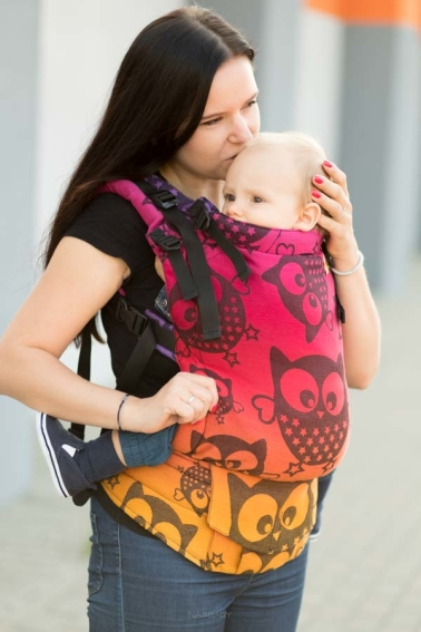 Mysterious Owls Night, NatiGrow Adjustable Carrier, [100% cotton]