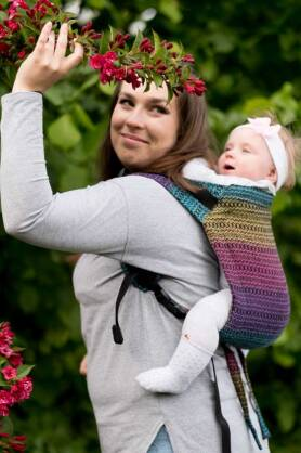 Rainbow Roam, ONBUHIMO CARRIER, [100% cotton]
