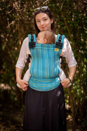 Rodos, NatiGrow Adjustable Carrier, [100% cotton]