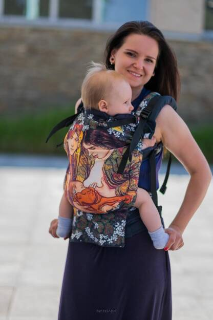 Motherhood, NATIGROW CARRIER, [100% cotton] baby carrier, baby carriers, ergonomic baby carrier, ergonomic baby carriers, ssc carrier, ssc carriers, ssc baby carrier, ssc baby carriers