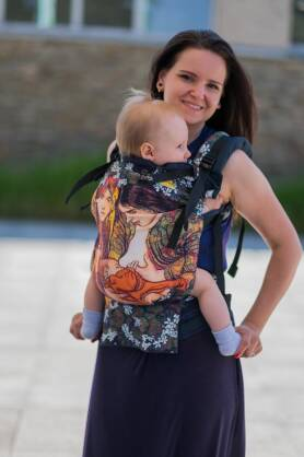 Motherhood, NatiGrow Adjustable Carrier, [100% cotton]