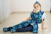 Doll Wrap Foxes Blue baby wrap, baby wraps, babywearing, wrap, wraps, for children, for child, sling, slings, baby sling, baby slings