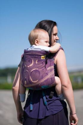 BABY Purple Planets, ONBUHIMO CARRIER, [100% cotton]