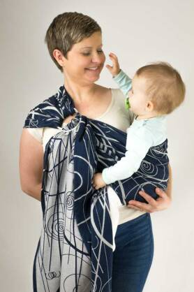 Lambda, RING SLING [100% cotton]
