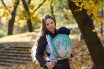 Clovers Ombre Ii, WRAP, [100% cotton] baby wrap, baby wraps, babywearing, wrap, wraps, for children, for child, sling, slings, baby sling, baby slings