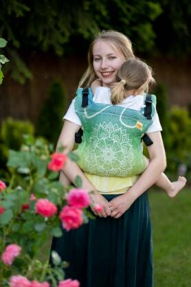 Sibillinya Light Green, NATIGO CARRIER, [100% cotton]