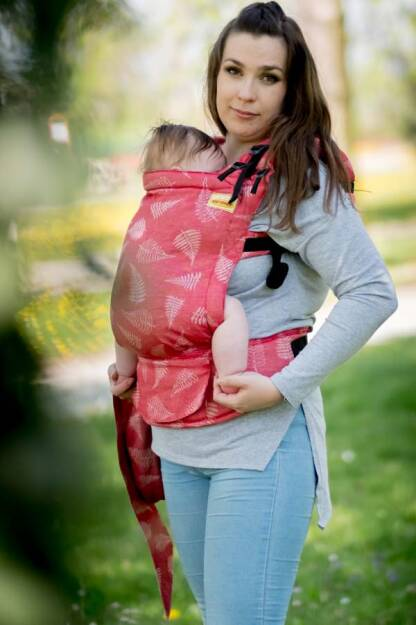 Ferns, NatiGrow Adjustable Carrier, [100% cotton]