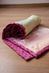 NatiBlanket Flying Without Wings Pink