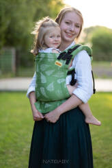 Ferns Green, NatiGrow Adjustable Carrier, [100% cotton]